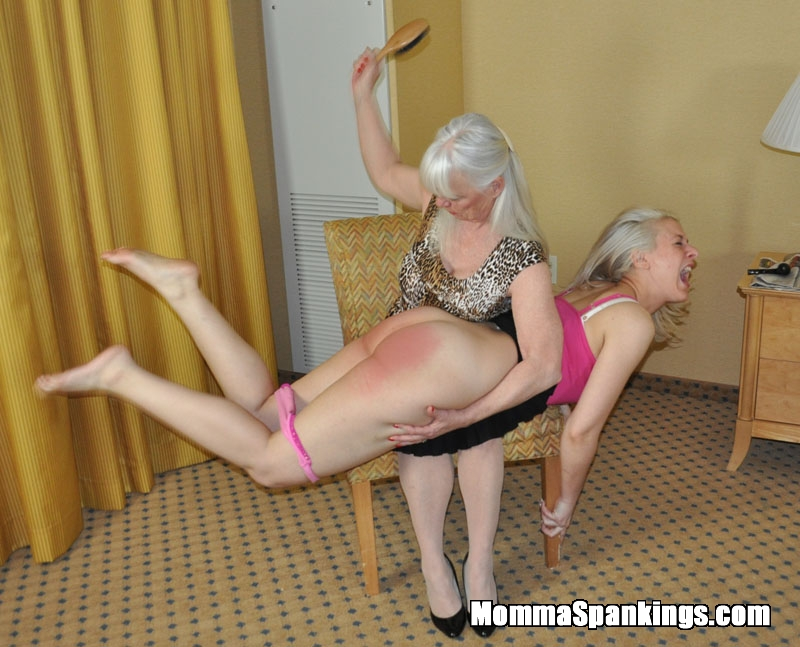 bare bottom spanking smile