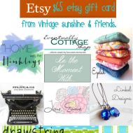 Happy Hoops + a $65 Etsy Gift Card Giveaway