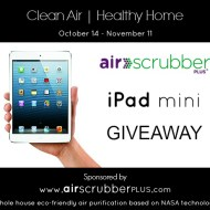 Breathe Easy with Air Scrubber Plus Pure Air iPad Mini Giveaway