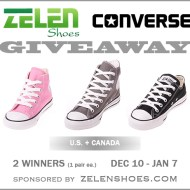 Converse Shoes Giveaway   Zelenshoes.com