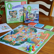 Family Board Game | Q's Race To The Top