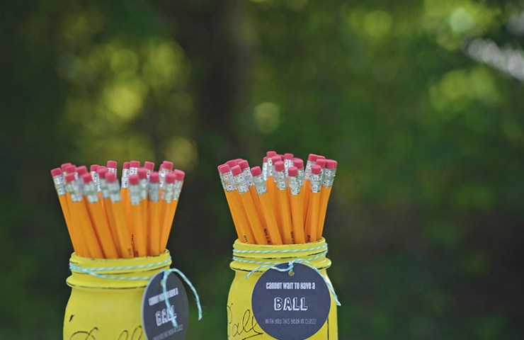 Ball Mason Jar Teacher Gift