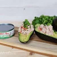 Avocado Lime Tuna Salad