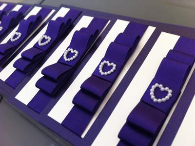 Exquisite bespoke wedding stationery