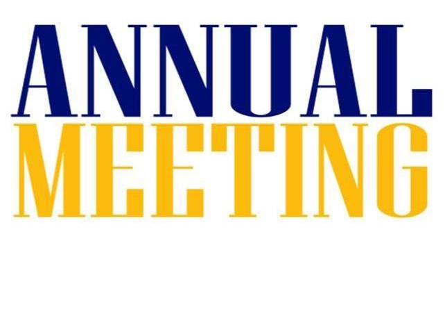 ANNUAL MEETING – May 19