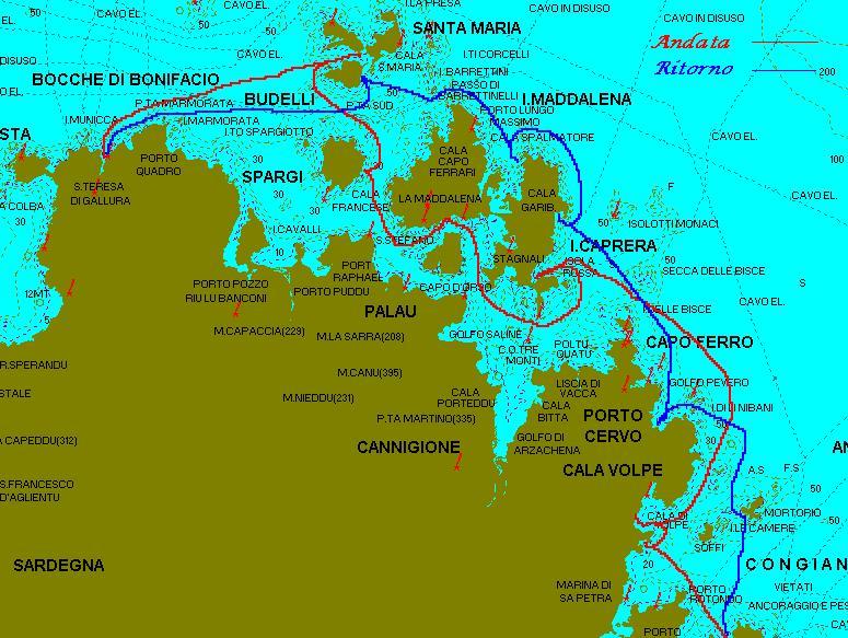 ItinerarioCostaSmeralda