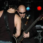 James Melillo, S.A. Sebastian. Performing with Atomic Brother in NYC. Photo by Shanna Franklin (http://shannafranklin.com).
