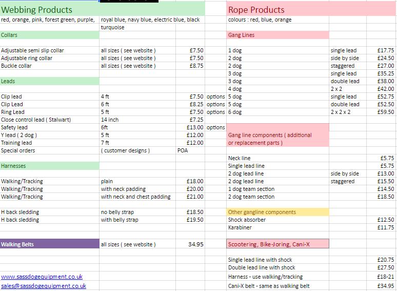 sass_price_list_2016
