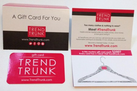 Trend Trunk: Exclusive gift card worth up to $250
