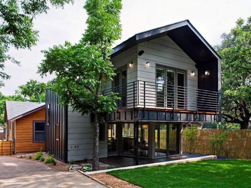 Rumah Sederhana dengan Gaya Alami