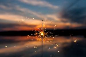 Sparkler by David Zawila