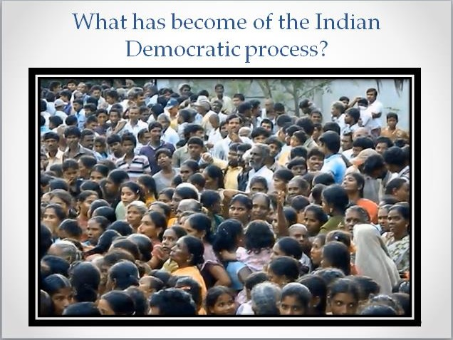Indian Democratic Process