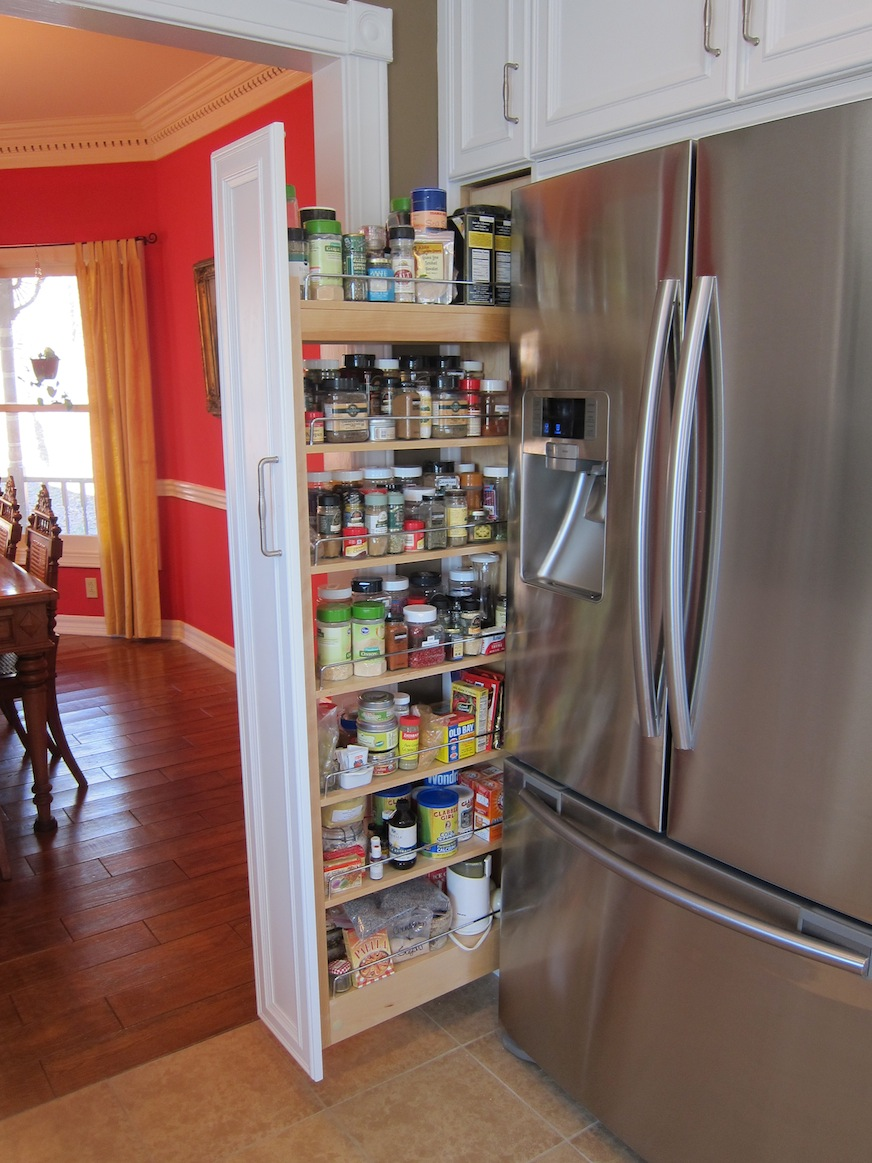 slide out spice racks for kitchen cabinets pull out kitchen cabinet Kitchen Cabinets E Rack Pull Out
