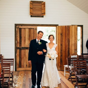 Nichole & Matt Brown's Daylesford Wedding at Sault Restaurant
