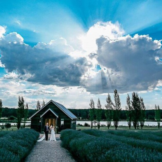Sault Barn/Chapel in a stunning image by Ben Swinnerton