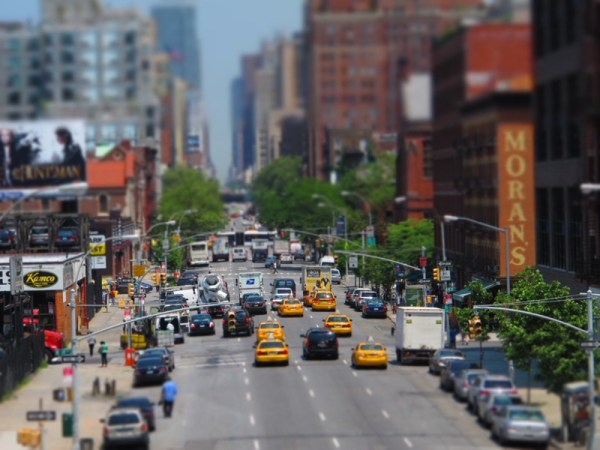 Photograph-Travel-NYC-New-York-City-USA-Highline-Traffic-Road-Busy