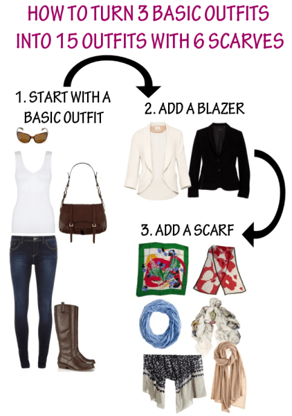 how to create new outfits from your closet
