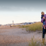 family-mother-children-father-parenting-feet-travel