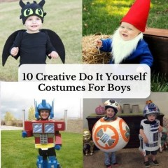 10 Creative Do It Yourself Costumes For Boys