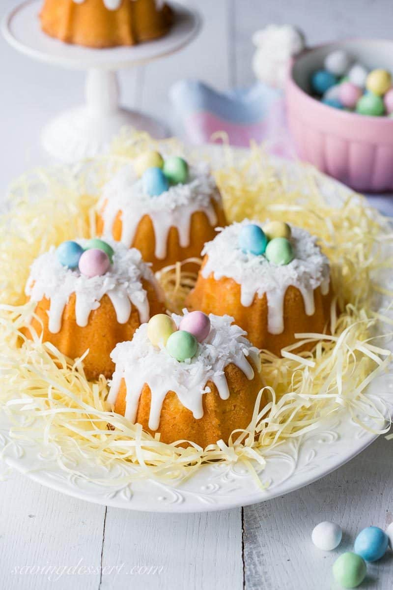 Astounding Mini Coconut Pound Cakes All Dressed Up Dessert Coconut Pound Cake Sourn Living Coconut Pound Cake Bundt Easter Baked A Minibundt Mini Coconut Pound Cakes Saving Room nice food Coconut Pound Cake