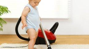 Dijete pomagač u kući – savjeti za odgoj