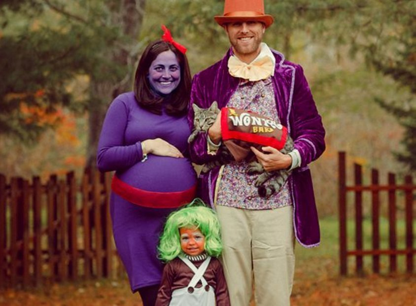 Willy Wonka Family Costume