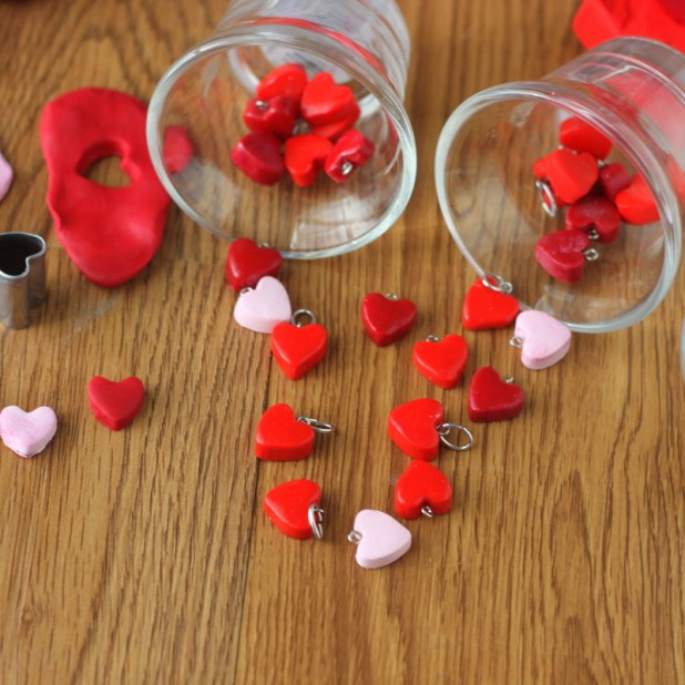 Heart Charms (DIY)
