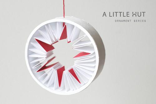 upcycled diy Christmas ornament