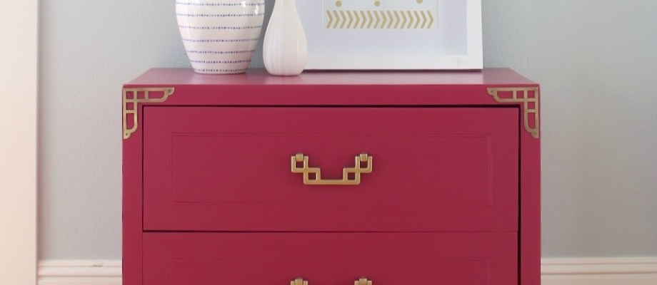 Vintage Asian Inspired Night Stands