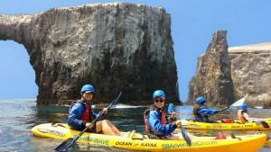 anacapa sea cave kayaking