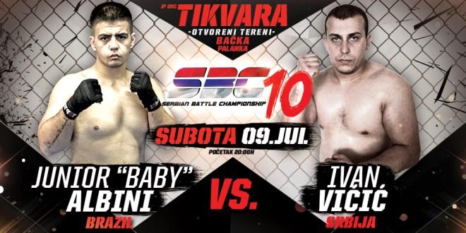 "Junior ""Baby"" Albini vs Ivan Vićić"