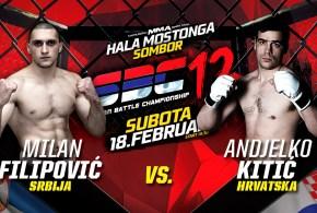 Novi protivnik za Milana Filipovića na SBC 12