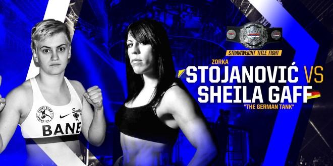 "SBC 23 – Revenge!  Strawweight Title Bout,  Zorka Stojanović vs Sheila ""The German Tank"" Gaff"