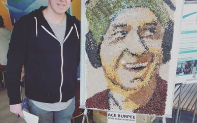 "Bean portrait ""in the Top 5 moments of my life"": Ace Burpee"