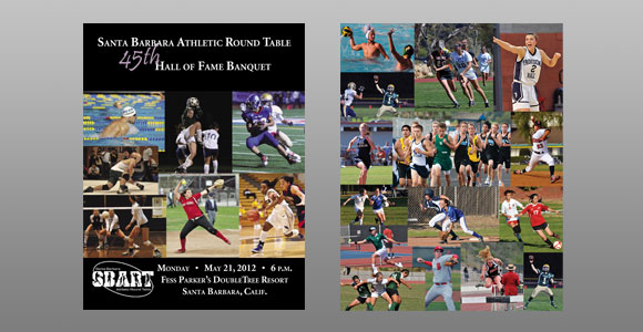 Santa Barbara Athletic Round Table 2012 Hall of Fame Banquet Cover