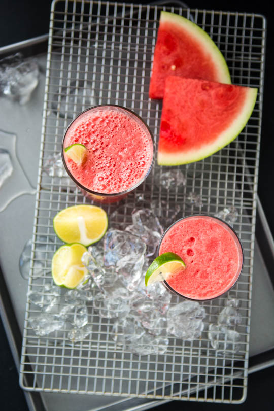 DSC_13843 ingredient watermelon coconut slushie - 5 minutes to a refreshing summer treat!