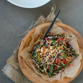 Rainbow Detox Salad | Scaling Back