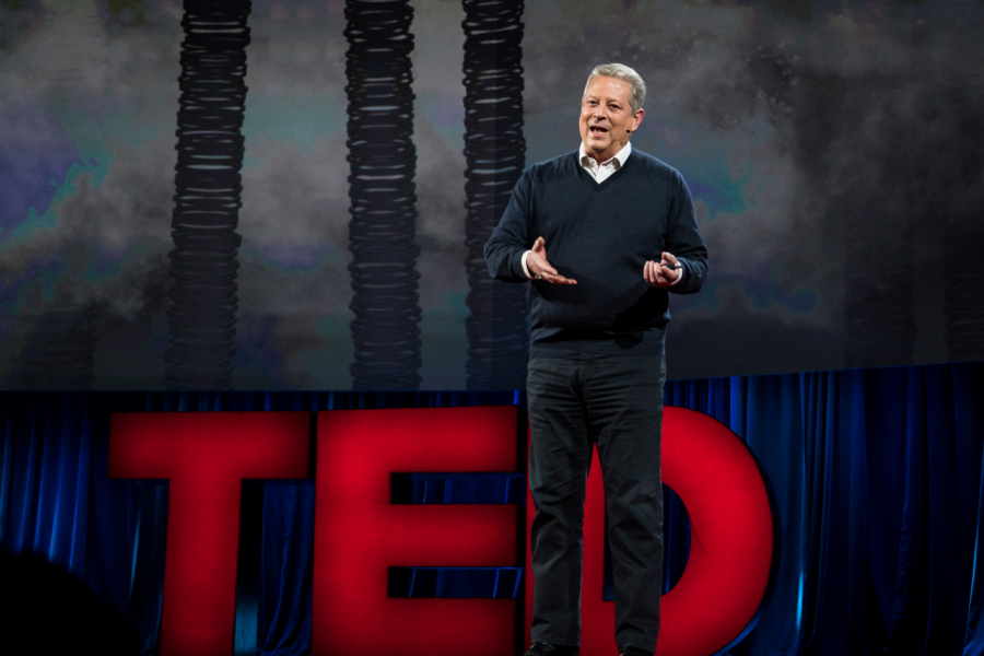 Video: In TED Talk, Al Gore Lays Out Clean-Energy-Based Case for Optimism on Climate Change