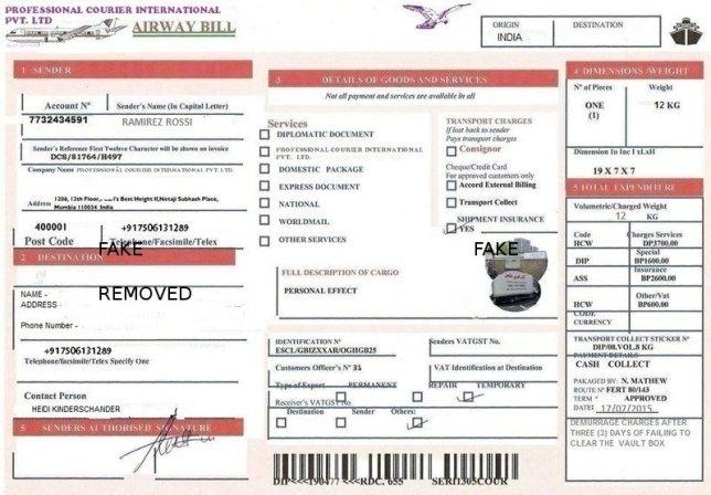 airway bill 01