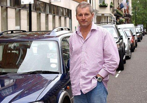 Tim Collins whio is in dispute regarding a parking ticket. pic: Lynn Hilton