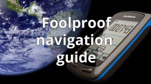 Foolproof course navigation on the Garmin Edge 800.