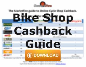 Buying bike stuff online? Want Cashback? Here's TWO ways you can get it.