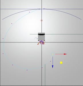 Camera curve