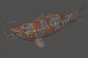 Fish bones - rotation