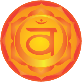 "Symbol for the 2nd ""Sacral"" chakra"