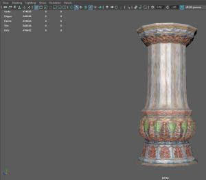 column-poly-Maya