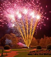firework display cremation ashes