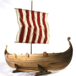 viking longship urn