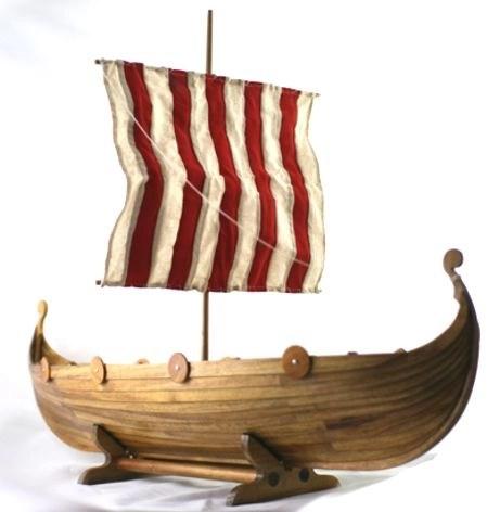 Viking Longboat Urn