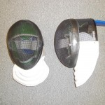 While you could use this mask last year in some foil events, it is now strictly an epee (or non-electric practice) mask.